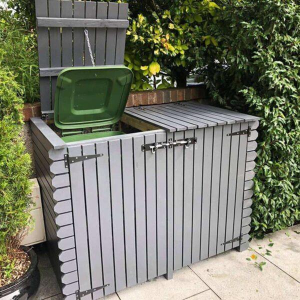 double wheelie bin
