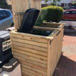 double wheel bin storage