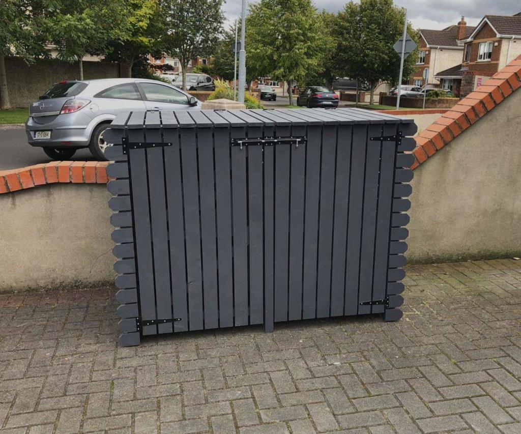 double wheelie bin storage