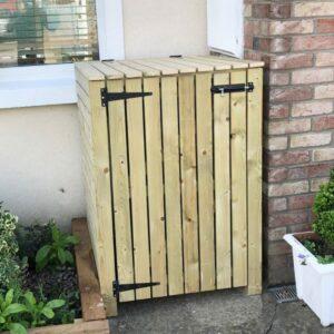 single wheelie bin storage wbsireland.ie